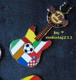 Hard Rock Cafe WARSAW 2012 Euro Football Group C Pin LE 100