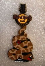 Hard Rock Cafe WARSAW 2013 Snake Guitar Pin LE 100