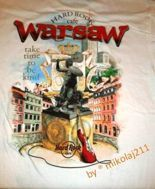 Hard Rock Cafe WARSAW 2014 T-shirt CITY Tee S-XXL