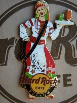 KRAKOW Hurricane Girl PIN