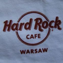 Hard Rock Cafe WARSAW 2009 T-shirt CITY Tee S-L