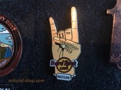 Hard Rock Cafe Warsaw 11th Anniversary 2019 Pin LE 300