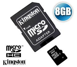 KINGSTON Micro SDHC Class4 8GB (SDC4/8GB)