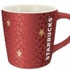 Starbucks POLAND Red Star Mug 2012 Brand New 12oz